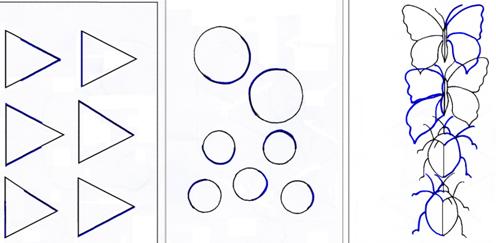 методика изучения восприятия какие предметы спрятаны в рисунках